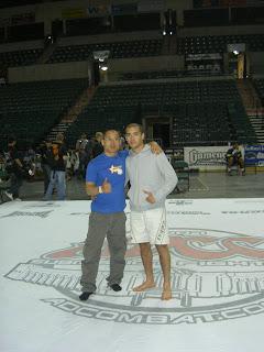 Dao et Nico, sur le tapis de l'ADCC