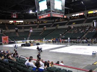 L'intérieur de la Sovereign Bank Arena