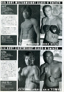 Takumi Nakayama vs. Bruno Queroi & Kazuhiro Inoue vs. Flavio Santiago
