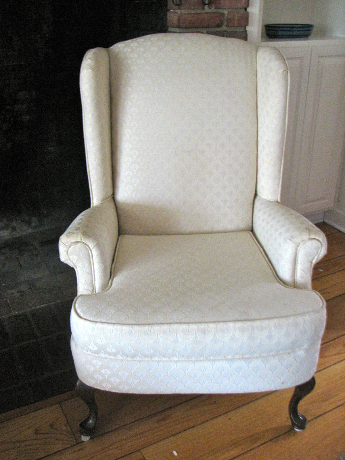 William Sonoma Chair Covers High Back Oak Dining Chairs Three Boys End Look For Less Wing With Nail