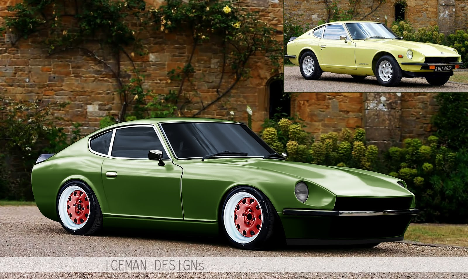 icemangraphics nissan 240z by iceman. Black Bedroom Furniture Sets. Home Design Ideas