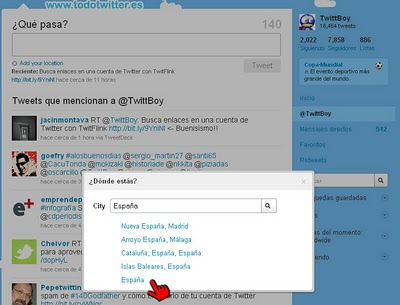 Twitter Places Captura 04