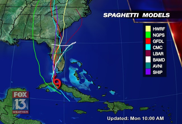 Models Spaghetti 2016 Hurricane Floridamathaew – Wonderful