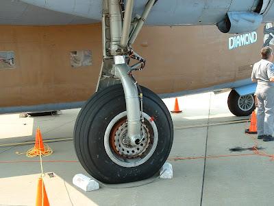 B-24 walk around photos - main gear detail