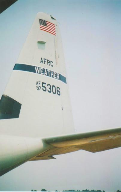 WC-130J 97-5306 Hurricane Hunter tail photo
