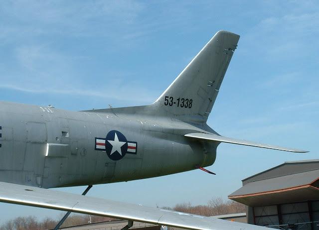 F-86H walk around rear fuselage detail photo
