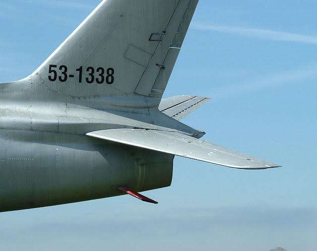 F-86H tail detail photo