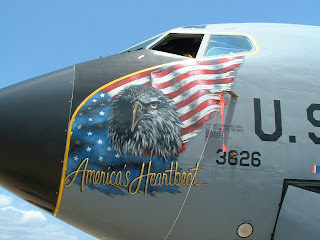 KC-135 nose art photo