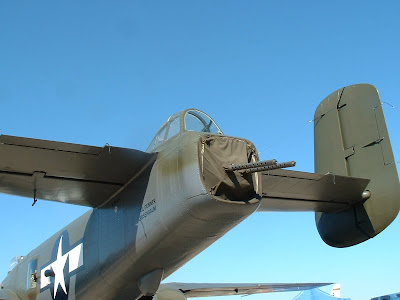 B-25 Mitchell tail turret photo