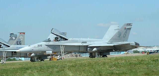 FA-18 Legacy Hornet of VFA-106.