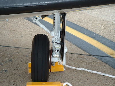 T-34C walk around - main landing gear photo