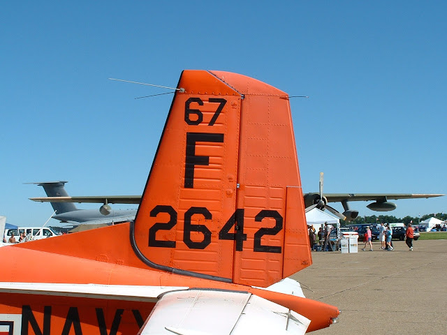 Navy T-34C tail photo
