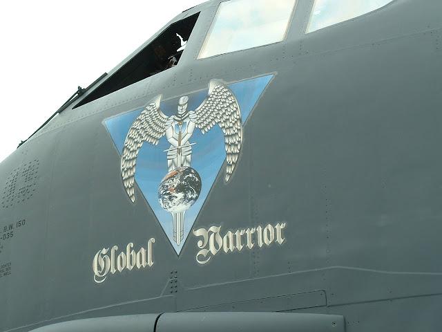 B-52H Global Warrior nose art photo