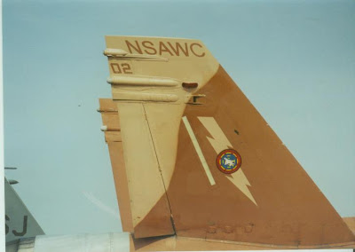 NSAWC Hornet tail photo