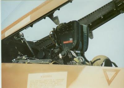 FA-18B cockpit photo