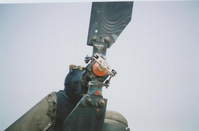Huey tail rotor