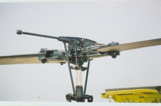 UH-1 main rotor photo