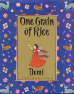one grain of rice by demi children's book review mathematical concepts math and literature