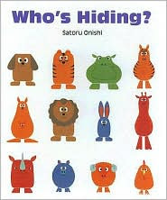who's hiding? children's book review satoru onishi