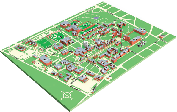 Unc Greensboro Campus Map.Katie S Design Blog Blog Post 3 10 Principle Ideas On Uncg Campus