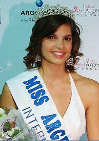 Miss Argentina 2008 - Miss Agustina Quinteros