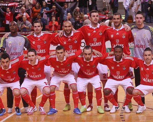 Futsal  Benfica goleia Potpican e reassume 1º lugar b854198d287b2