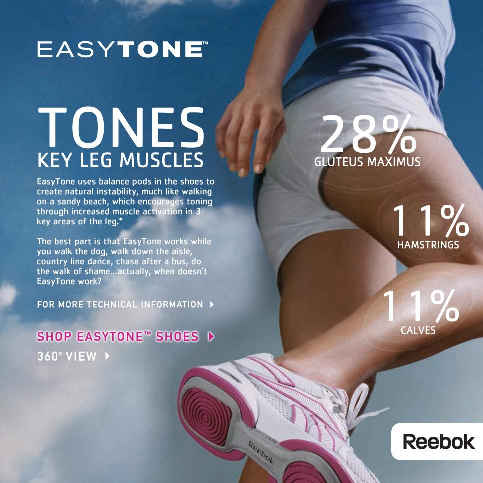 Reebok Easytone Walking Shoe Womens