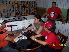Programa de Radio con motivo del II Encuentro de Estudiantes PFGEJ. TUMEREMO 2006