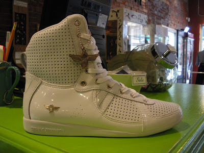 67852117b Site Blogspot Shoes on Not Least We Have The Dvs Gracie Shoe In White Pink  Green