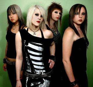 Kittie Band Members Necrotic Freak-††�...