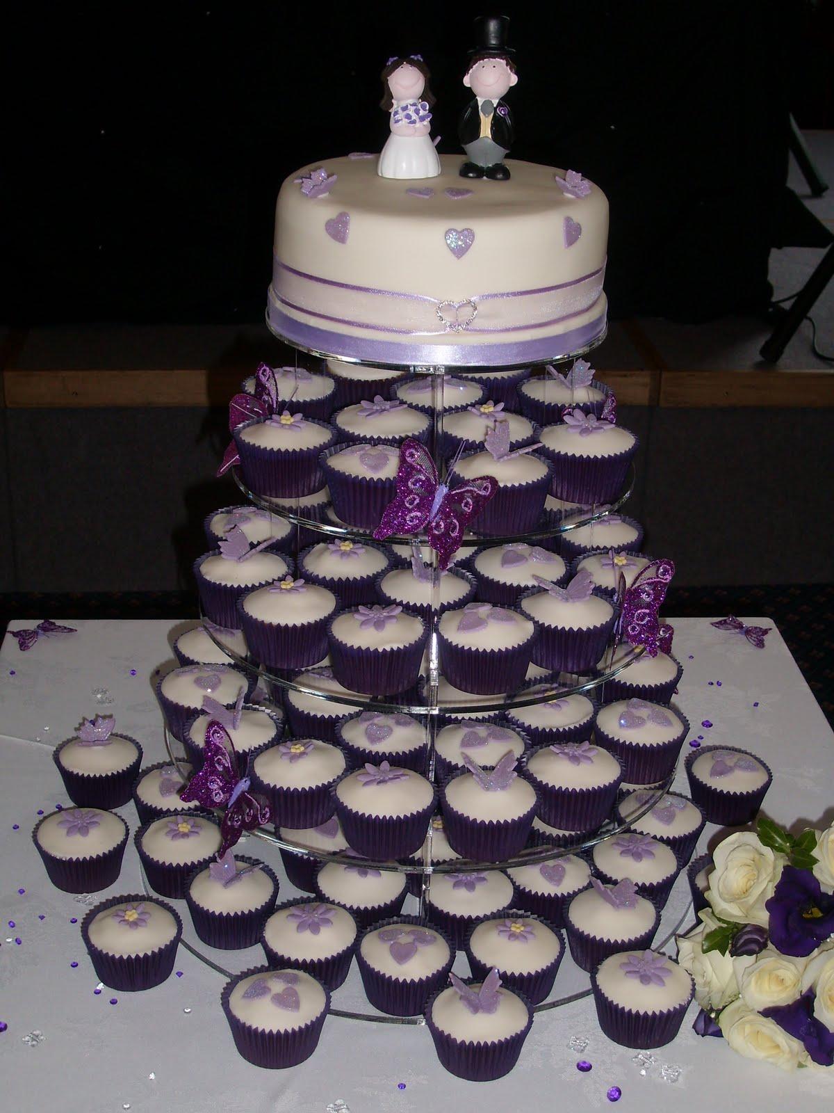Teeny Cupcakes Wedding Cakes