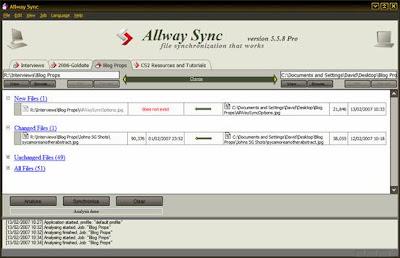Allwaysync Pro - Screenshot