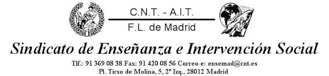 Sindicato de Enseñanza e Intervención Social de CNT AIT Madrid