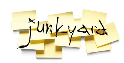 junkyard poetry