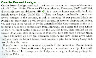 castle forest lodge