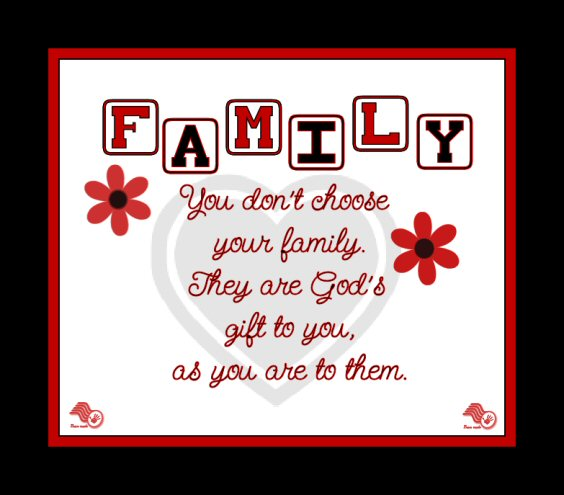 Quotes About Loving Your Family: Grace From God: Christian Families