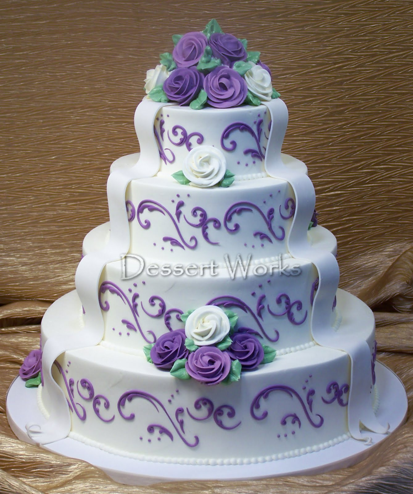 Chocolate And Lavendar Cake