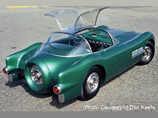 The Pontiac Bonneville Special Was A Purpose Built Concept Car Unveiled At  The General Motors Motorama In 1954, The First 2 Seater Sports Car Pontiac  Ever ...