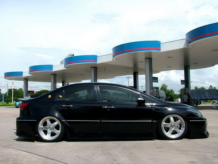 All About Cars Honda Civic Sedan With Lexus Is Back And