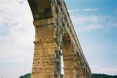 Under Pont du Gard