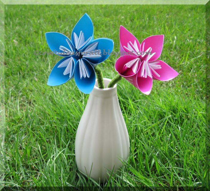 Craft ideas for all kusudama flowers in a vase mightylinksfo