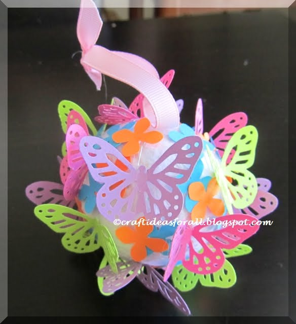Butterfly Christmas Craft