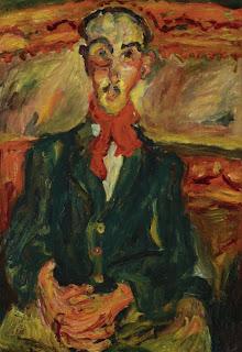 Chaim Soutine, L'Homme Au Foulard Rouge