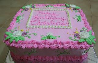 Joris Kitchen: Birthday Cake for Maria Christina