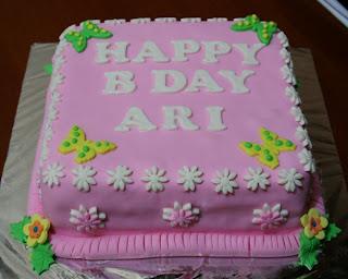 Joris Kitchen Birthday Cake for Ari