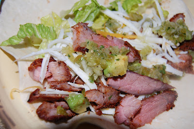 Chili-rubbed Steak Tacos with Tomatillo-Avocado Salsa | The Sisters ...