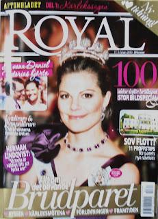 004a1bdfbffd tidningstankar: Royal - glans utan nytt i kungliga kärlekssagan