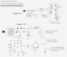 Centro Cibertronico: Como hacerse un probador de flyback ... on power schematic, nautilus schematic, audio schematic, capacitor schematic,