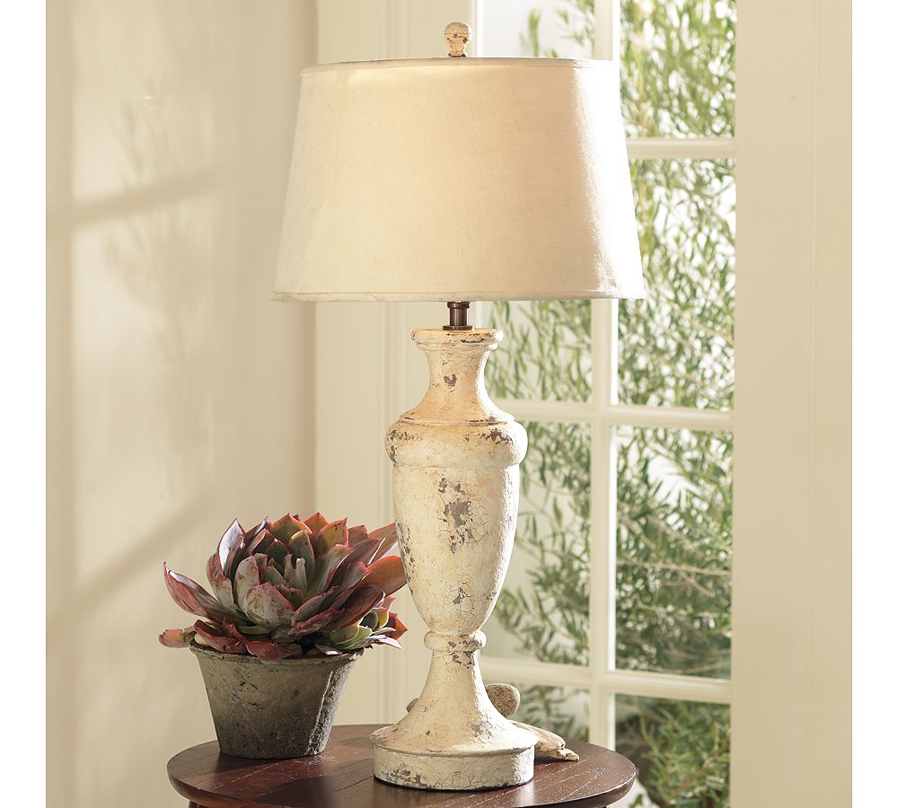 Coastal Pottery Barn Inspired Lamp | Perfectly Imperfect Blog