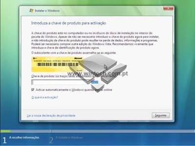 [Tutorial] Aprenda a formatar e instalar o Windows Vista 7A
